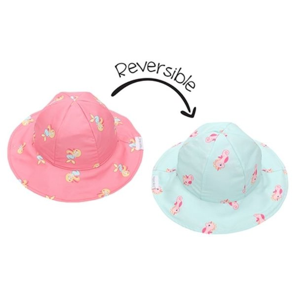 View larger image of Reversible Patterned Sun Hat