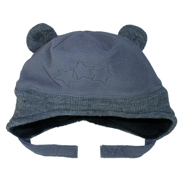 View larger image of Fleece Velcro Hat - Graphite