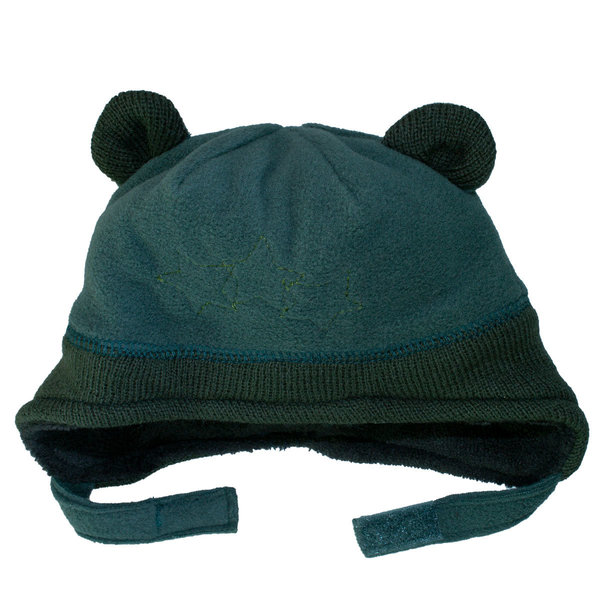View larger image of Fleece Velcro Hat-Green-XS