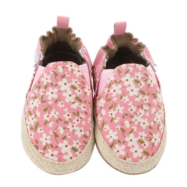 View larger image of Floral Mania Soft Soles - Light Pink - 12-18 Months