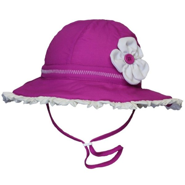 View larger image of Flower Sun Hat - Vivid Orchid
