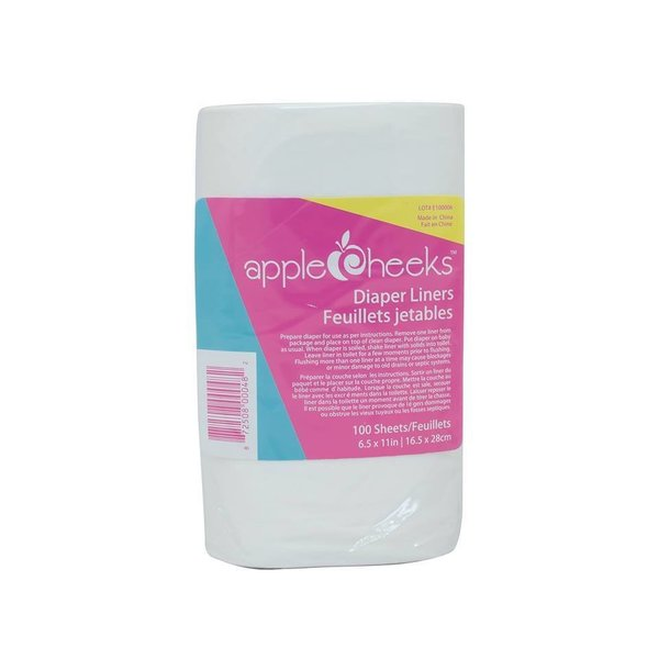 View larger image of Disposable Flushable Liners - 100 pack