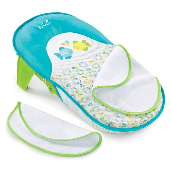 View larger image of Folding Bath Sling with Warming Wings