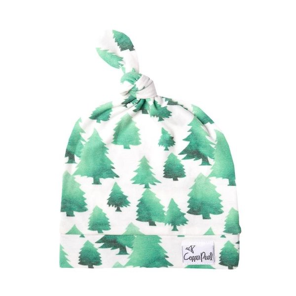 View larger image of Top Knot Hat- Forest