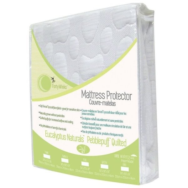 View larger image of Natural Tencel Mattress Cover