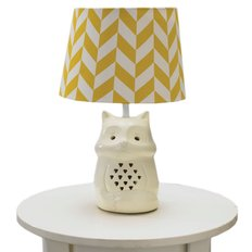 Fox Lamp Base With Shade