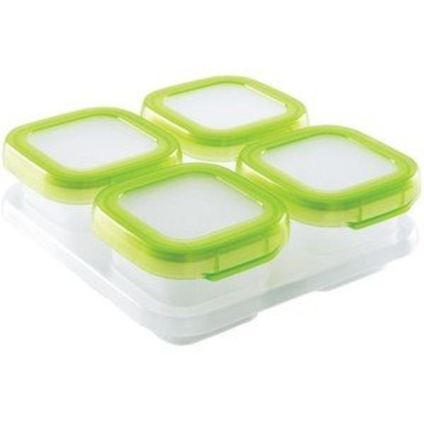 View larger image of Freezer Containers 4oz - Green