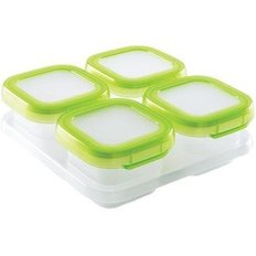 Freezer Containers 4oz - Green