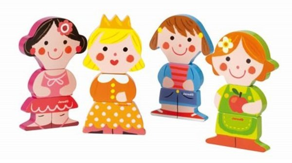 View larger image of Funny Magnets Dolls