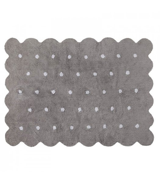 View larger image of Galetta - Grey Dots - White