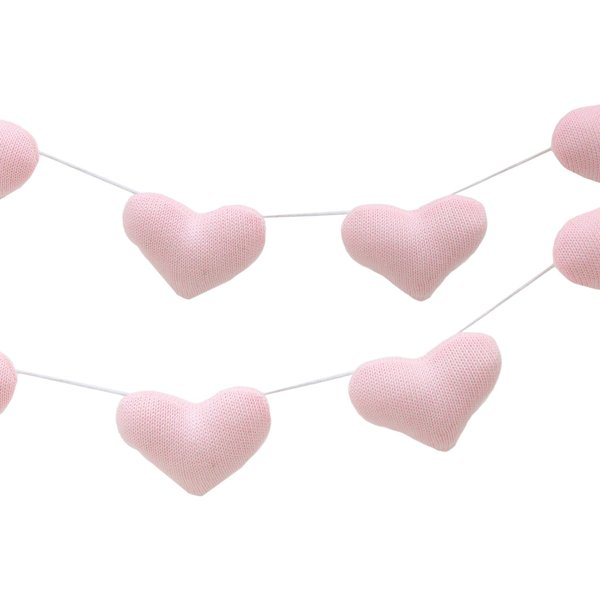 View larger image of Garland - Pink Hearts