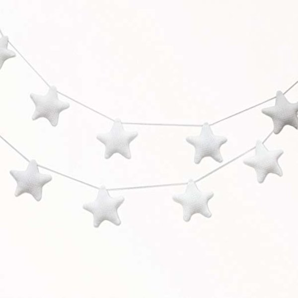 View larger image of Garland - White Stars