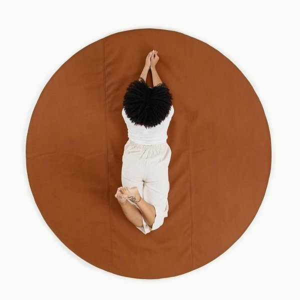 View larger image of Leather Circle Mats