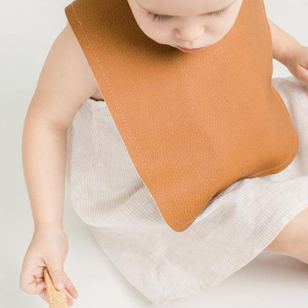 View larger image of Vegan Leather Bib