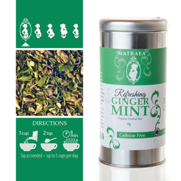 View larger image of Ginger Mint Tea 70g