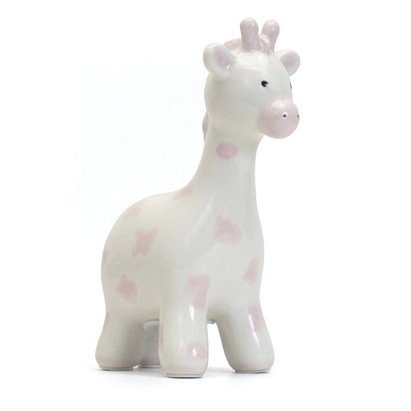 View larger image of Giraffe Bank - Pink Spots - Small