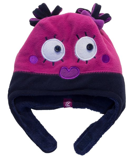 View larger image of Girl Monster Hat - Fuschia
