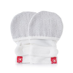 Drops Mitts - Grey 0-3M