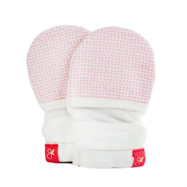View larger image of Goumimitts - Drops - 0-3 Months - Pink