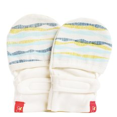 GoumiMitts - Geo Wave Aqua - 0-3 Months