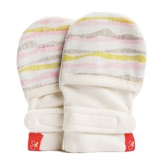 GoumiMitts - Geo Wave Pink - 0-3 Months