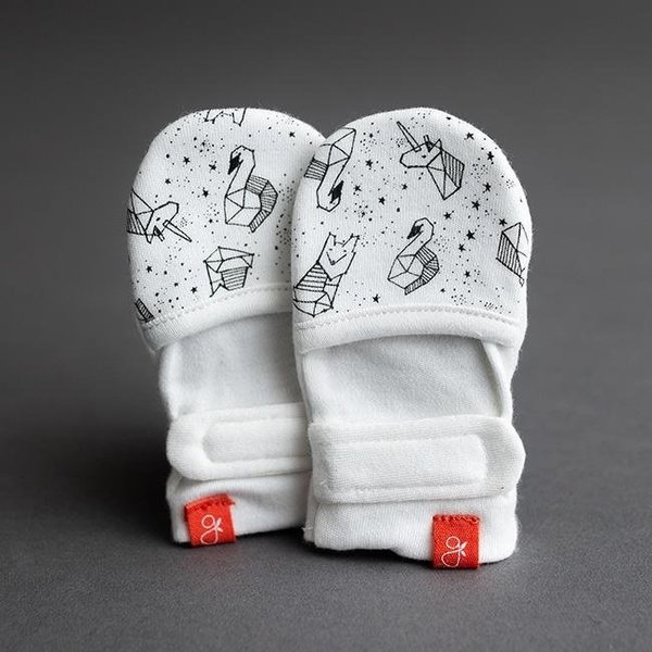 View larger image of GoumiMitts-Stars-0-3M