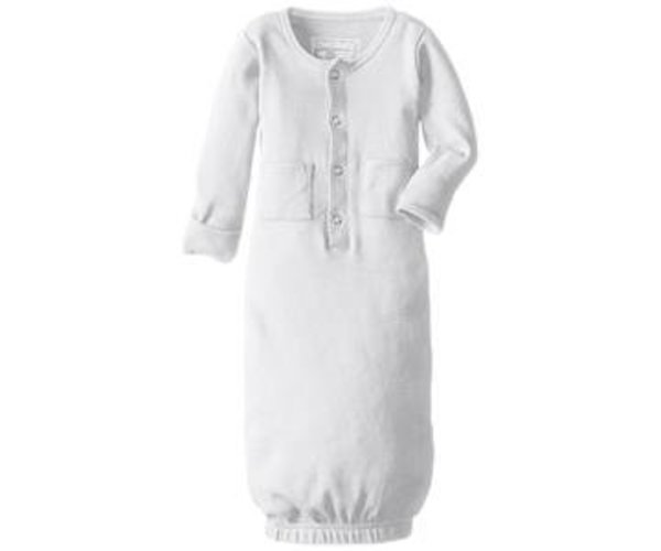 View larger image of Organic Gown - White