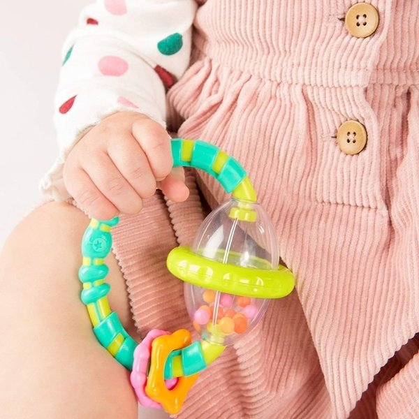 View larger image of Grab & Spin Rattle Toy
