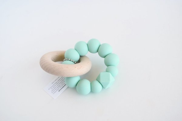View larger image of Silicone Bead Teethers With Ring