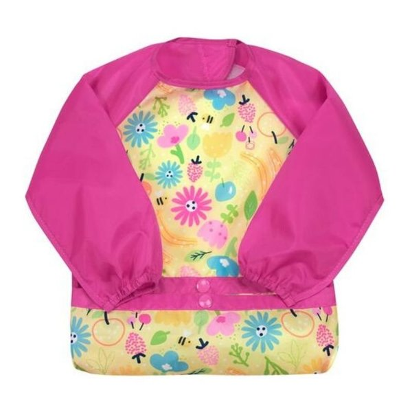 View larger image of Snap + Go Easy-Wear Long Sleeve Bibs