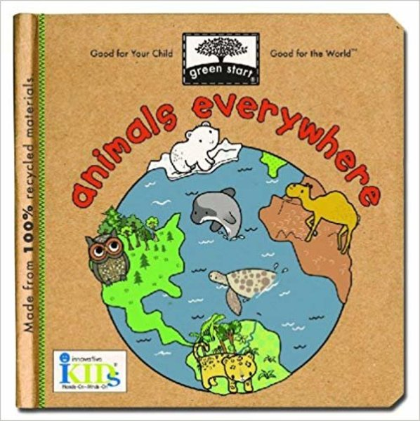 View larger image of Green Start - Animals Everywhere Board Book