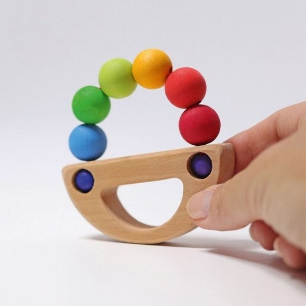 View larger image of Grasping Toy - Rainbow Boat
