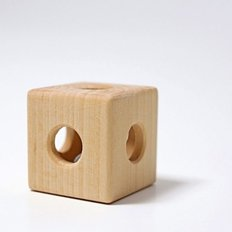 Rattle Cube with Bell