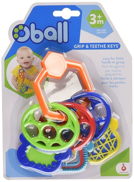View larger image of O-Ball Grip and Teethe Keys