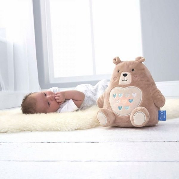 View larger image of Bennie the Bear Light & Sound Soother