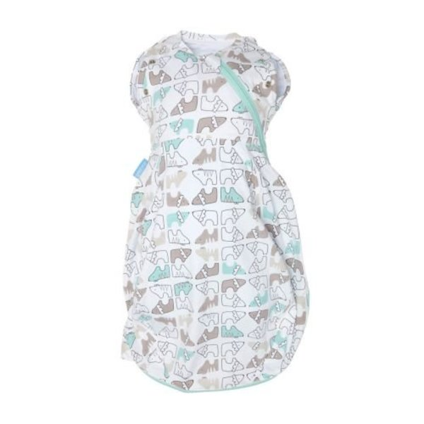View larger image of GroSnug Swaddle Grobag - Lions & Tigers - 0-3M
