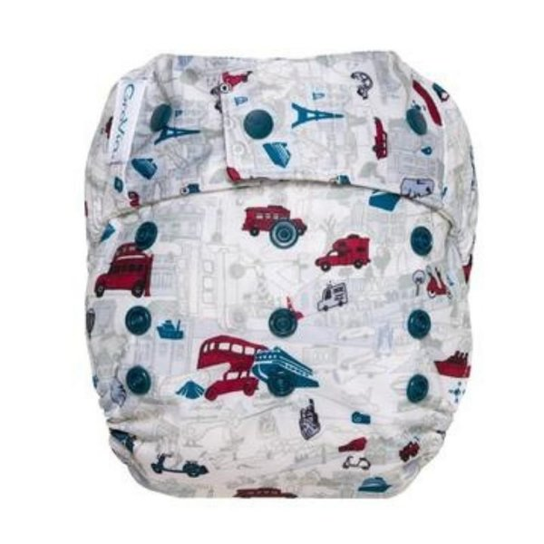 View larger image of Hybrid Hook & Loop Diaper Shell