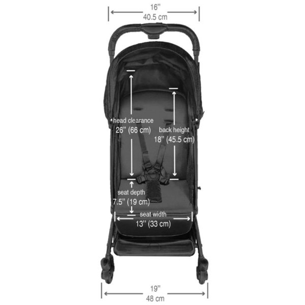 View larger image of Oxygen Compact Stroller