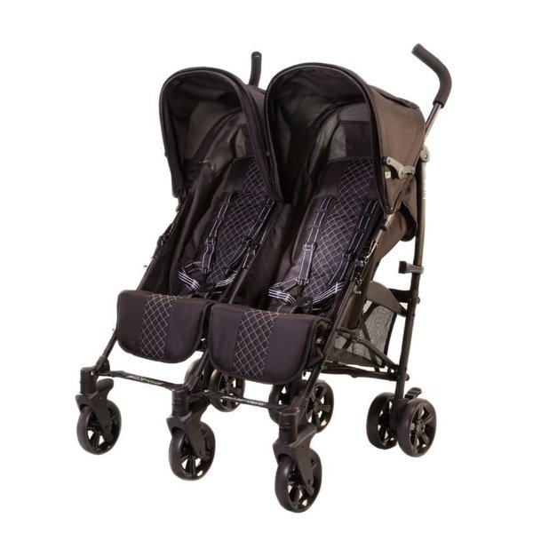 View larger image of Twice Double Stroller-Black