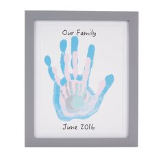 Family Handprint Frame