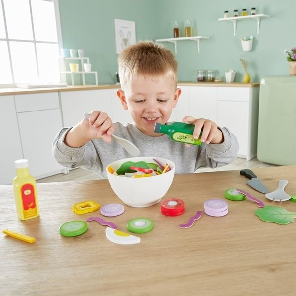 View larger image of Healthy Salad Playset