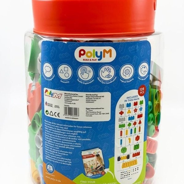 View larger image of Poly-M Bucket - 128pc