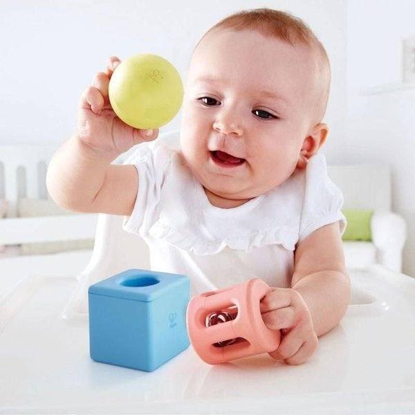 View larger image of Geometric Rattle Trio