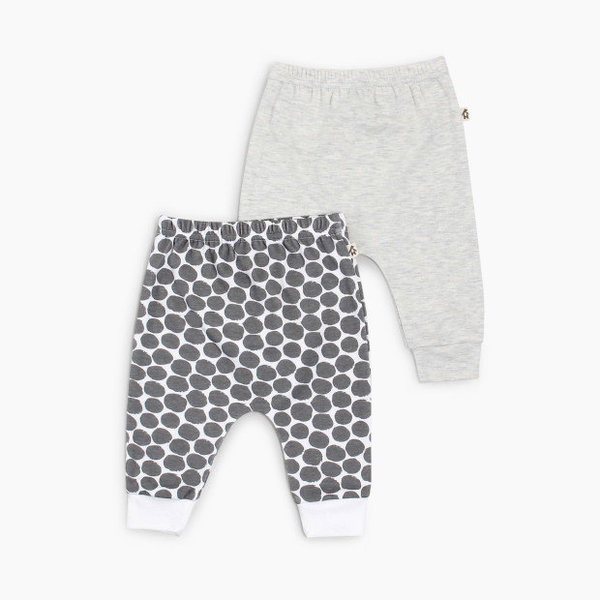 View larger image of Harem Pants (2 Pk) - Grey Dot