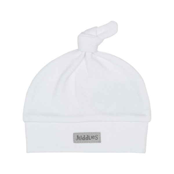 View larger image of Hat - White/Grey - 0-3 Months