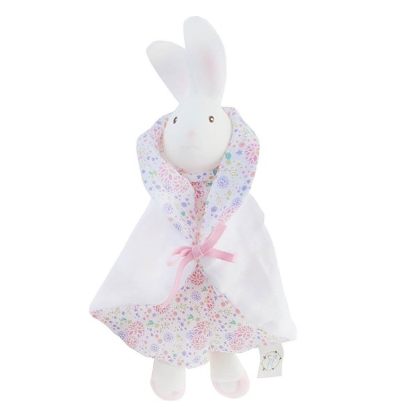 View larger image of Havah the Bunny Puppet Snuggly