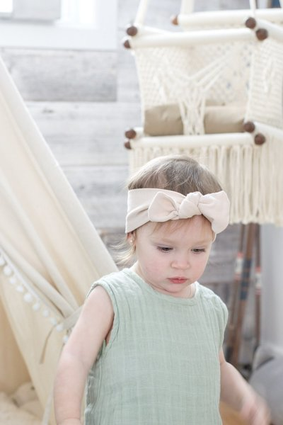 View larger image of Headband Bamboo Premium - Nude