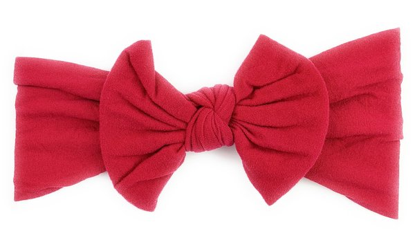 View larger image of Headband Bow-Deep Red