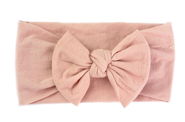 View larger image of Headband Bow-Dusty Rose