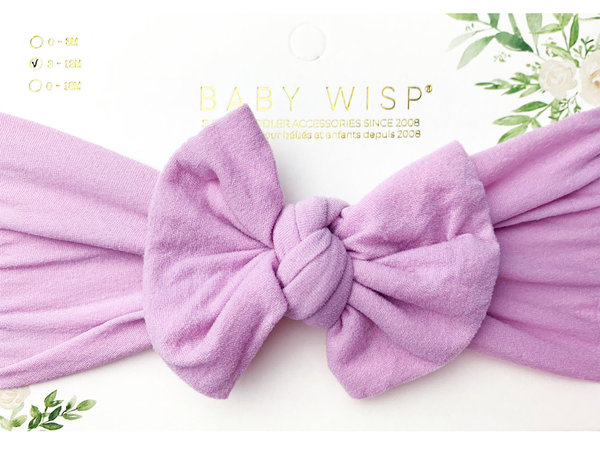 View larger image of Headband Bow-Mauve